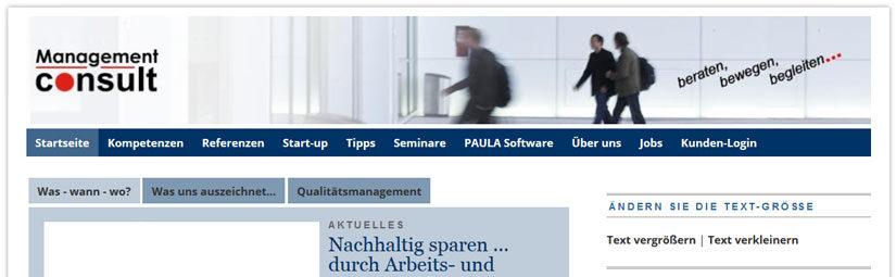 Management consult Unternehmensberatung Bonn
